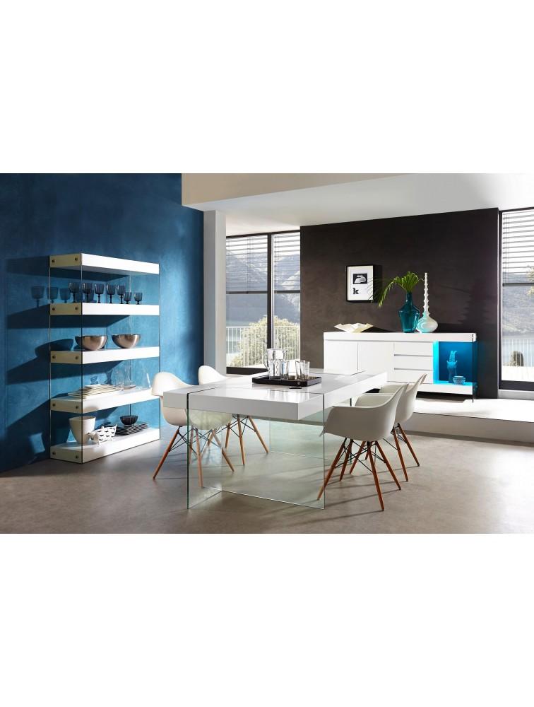 Colectia mobilier pentru sufragerie GW-CUBE, albastru