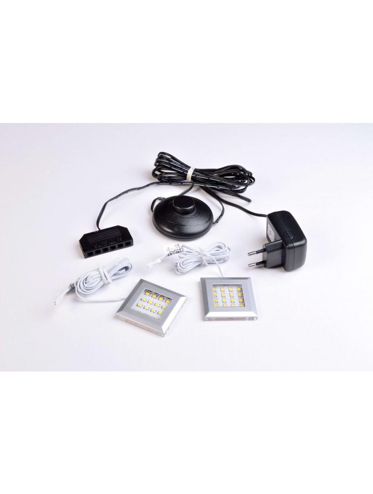 Sistem de iluminat cu 2XLED pentru colectia Cadiz